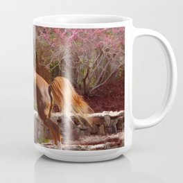 Jumping horse Coffee Mug