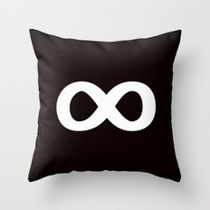 Infinite Heroes Throw Pillow