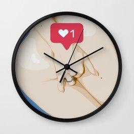 diggin' for lke Wall Clock
