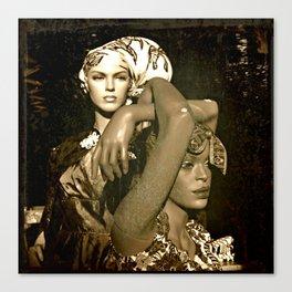 To all da silently slaving sistas in da world Canvas Print