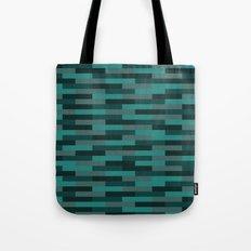 Teal Brick Tote Bag