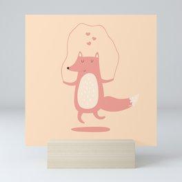 Fox Jumps the Rope Mini Art Print
