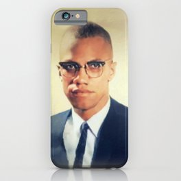 Malcolm X, Civil Rights iPhone Case