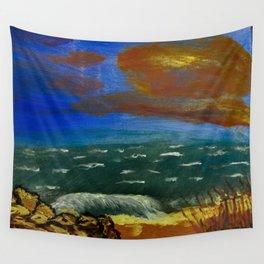 Rocky Beach Wall Tapestry