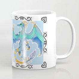 Shining Blue Syrena Coffee Mug