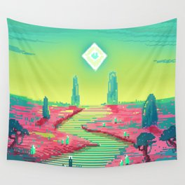 PHAZED PixelArt 3 Wall Tapestry