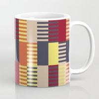 bauhaus Mugs featuring Bauhaus by ohkj