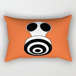 faces: Keep Breathing Rectangular Pillow