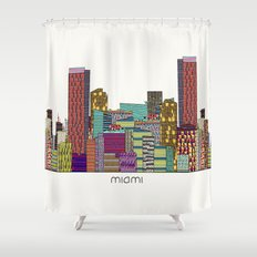 Miami Shower Curtain