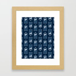 A Thousand Points In Time And Space Framed Art Print