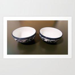 Bowls Art Print