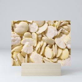 Fava beans Mini Art Print