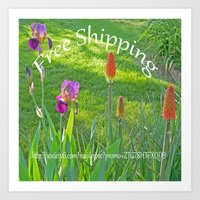 free shipping Art Prints featuring Free Shipping.... by Cherie DeBevoise