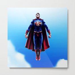 super man Metal Print
