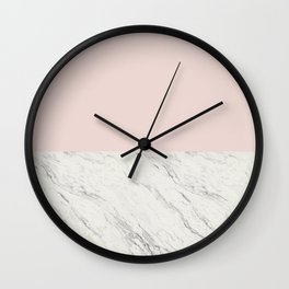 Moon Marble Wall Clock