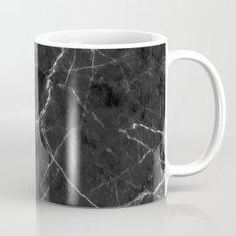Vintage Black Marble Coffee Mug