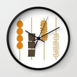 Street Foodz Wall Clock