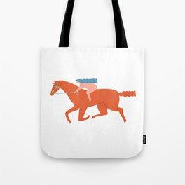 Naked derby Tote Bag