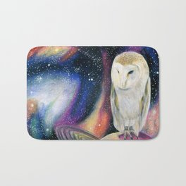 Cosmic Owl 2 Bath Mat