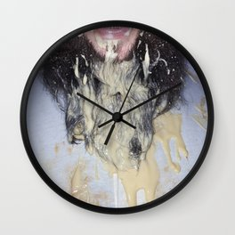 Custard Beard Wall Clock