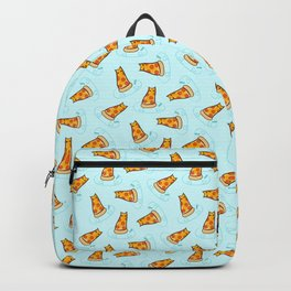 Purrpurroni and Cheese - Pizza Cat Backpack