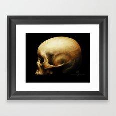 Skull Framed Art Print