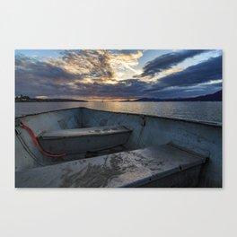 Sunset Horizon Canvas Print
