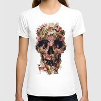ali T-shirts featuring Jungle Skull by Ali GULEC