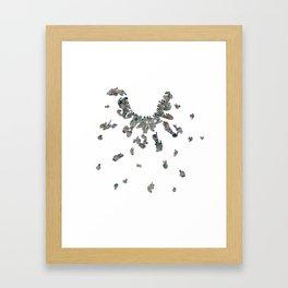 Point-ilism Framed Art Print