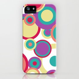 Colorful Circles iPhone Case
