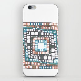 Squared layers No.2 iPhone Skin