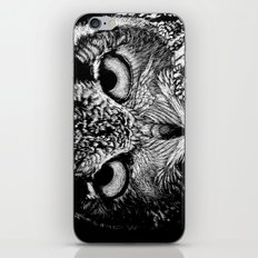 My Eyes Have Seen You (Owl) iPhone & iPod Skin