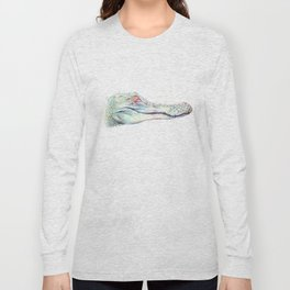 Albino Alligator Long Sleeve T-shirt
