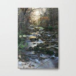 Natural Bridge River Metal Print