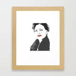 THE Woman Framed Art Print