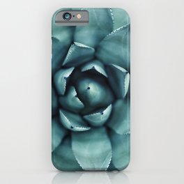 Aloe Green Agave iPhone Case
