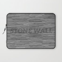 Stone Wall Laptop Sleeve