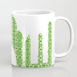 Taj Mahal Art Coffee Mug