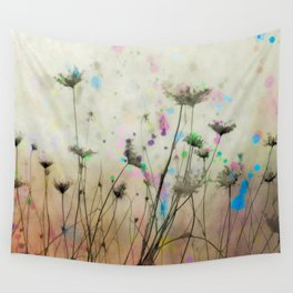 Splash Of Nature Wall Tapestry