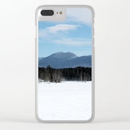 Bigelow Winter Clear iPhone Case