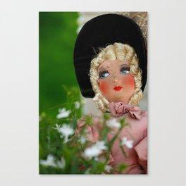 Paris Girl Canvas Print