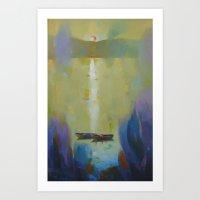ruben Art Prints featuring Ruben 3 by  Alexandra's Collection