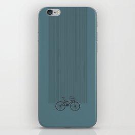 Grey Bike by Friztin iPhone Skin