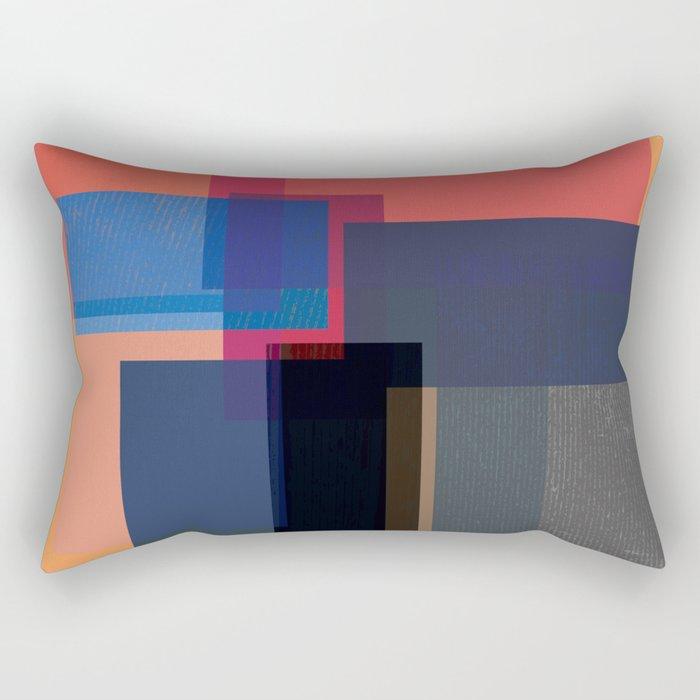 When the Walls Fall Rectangular Pillow