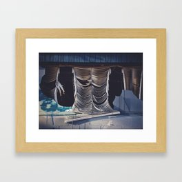 Broken Dreams, the result of neglect Framed Art Print