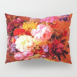 Passion Fruits and Flowers Pillow Sham