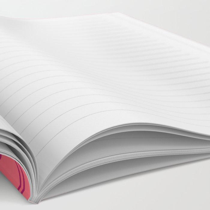 Woven Web pink Notebook