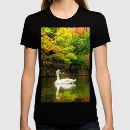 Autumn Swan Lake T-shirt