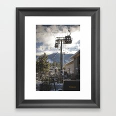 Heavenly Lift Framed Art Print