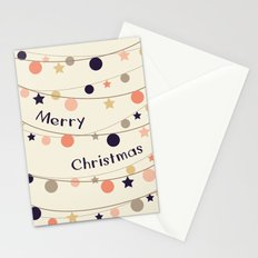 Christmas Garlands Stationery Cards